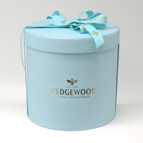 Wedgewood Nougat Wedgewood Handmade Honey Nougat 120 x Milk Chocolate and Almond Bon Bons - Medium Hatbox