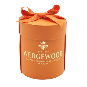 Wedgewood Handmade Honey Nougat 20 x Orange & Dark Chocolate Bon Bons - Small  Hatbox