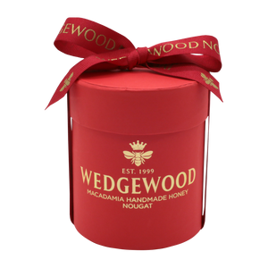 Wedgewood Handmade Honey Nougat 20 x Strawberry and White Chocolate Bon Bons - Small Hatbox