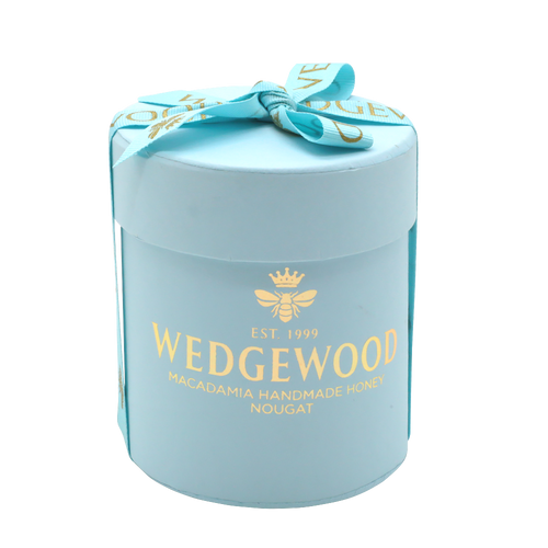 Wedgewood Nougat Wedgewood Handmade Honey Nougat 20 x Milk Chocolate and Almond Bon Bons - Small Hatbox