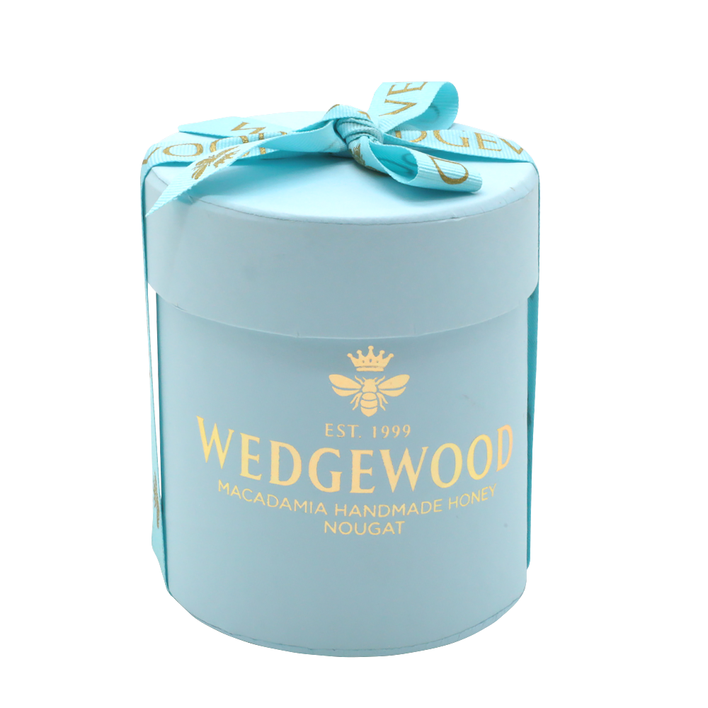 Wedgewood Handmade Honey Nougat 20 x Milk Chocolate and Almond Bon Bons - Small Hatbox