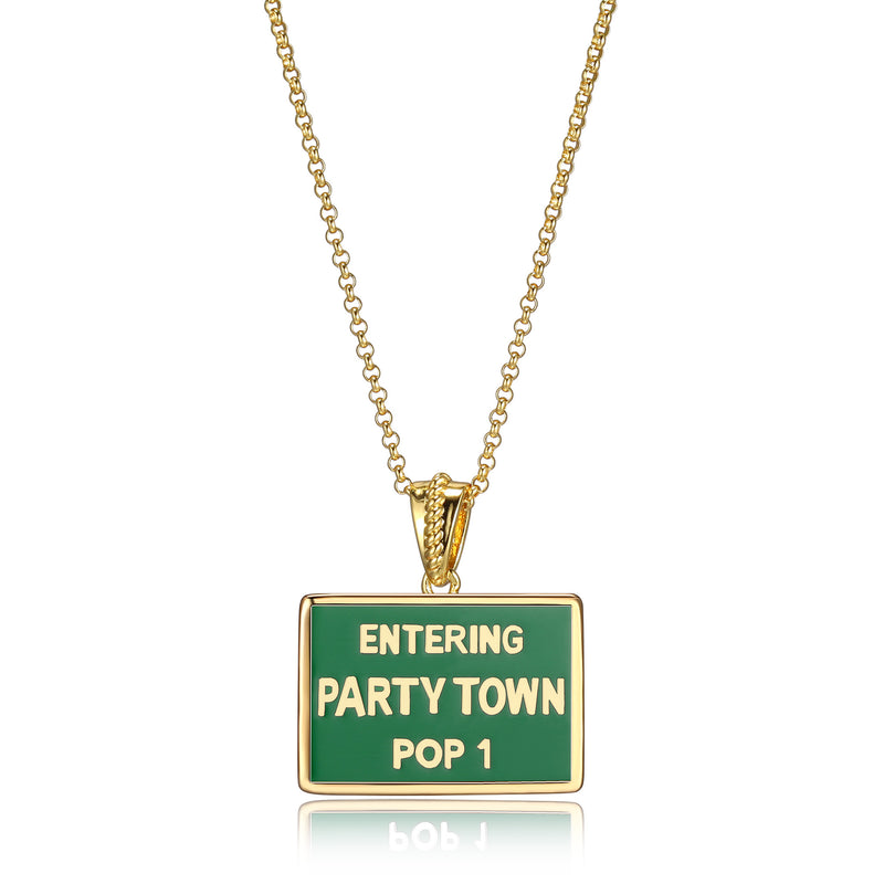 Entering Party Town Pop 1
