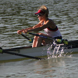 Ellie rowing
