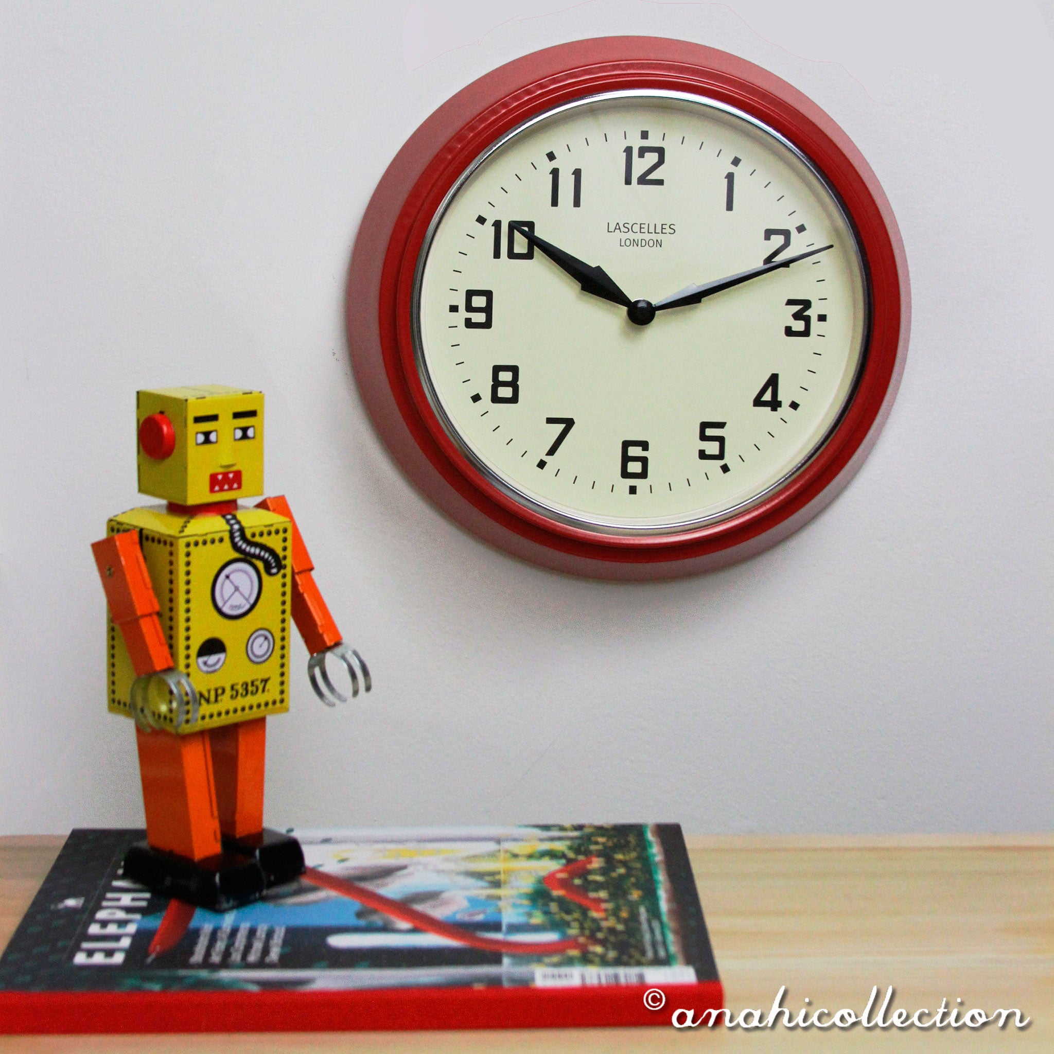 Radio Controlled Retro Clock