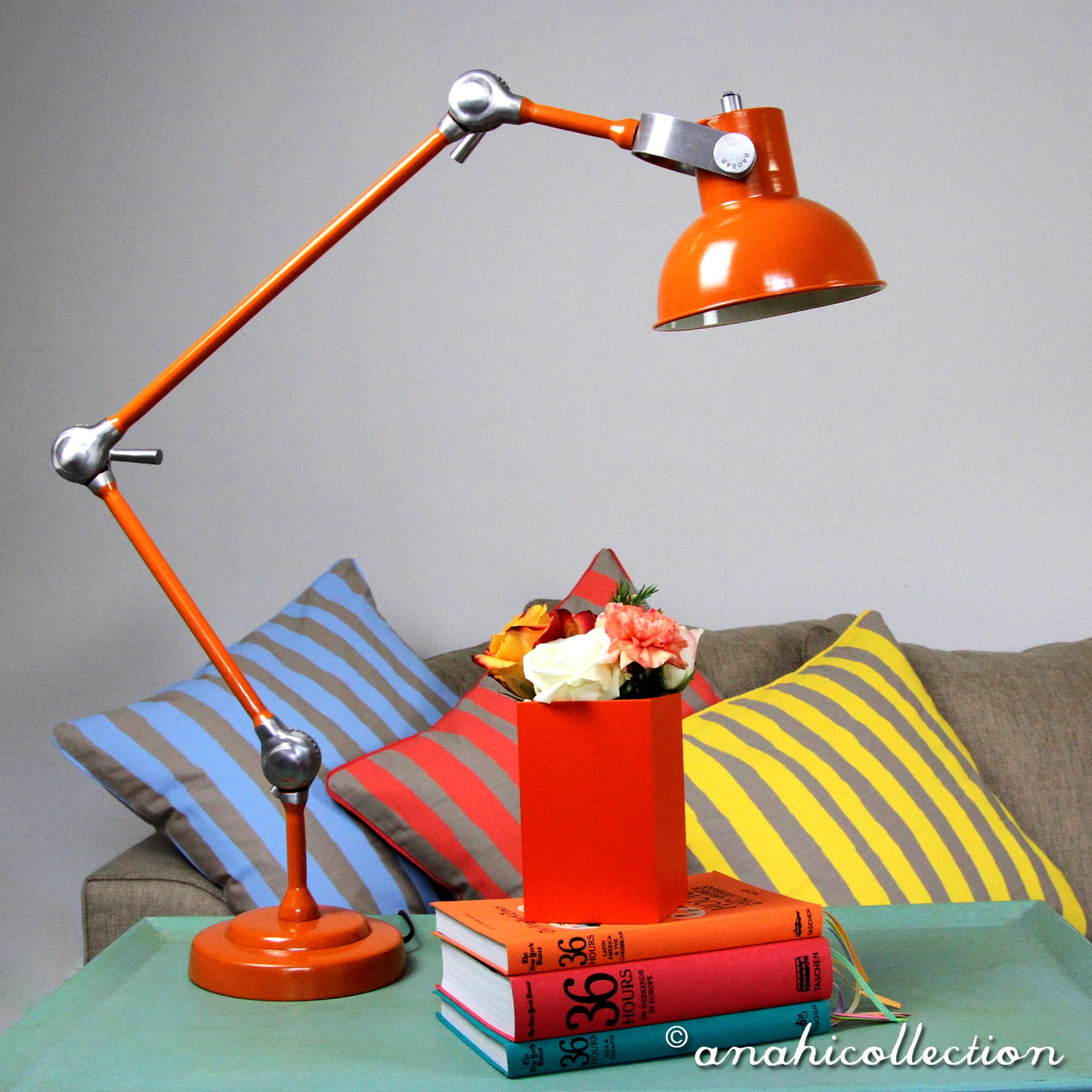50's style French Lamp