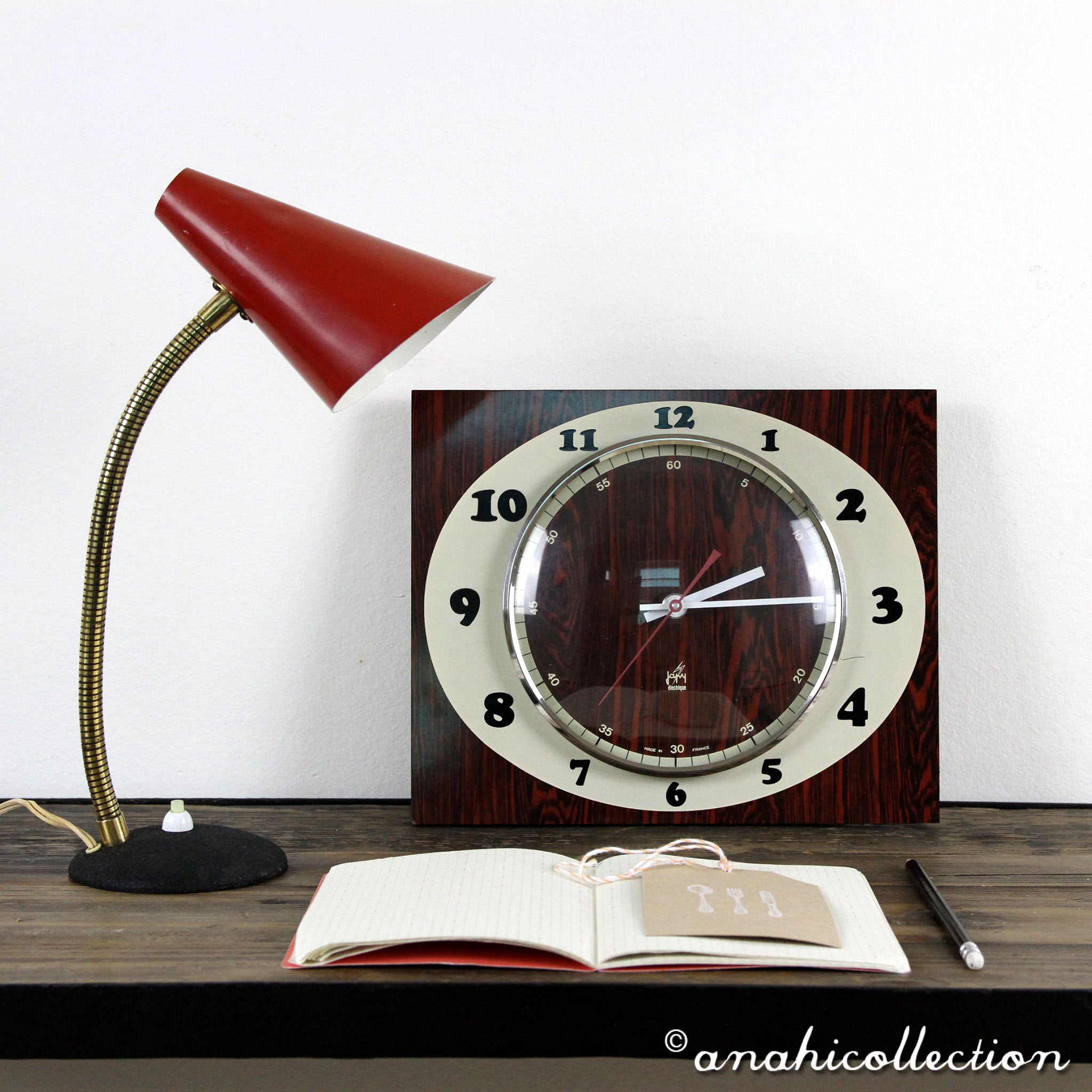 "Wall Clock ""Japy"""