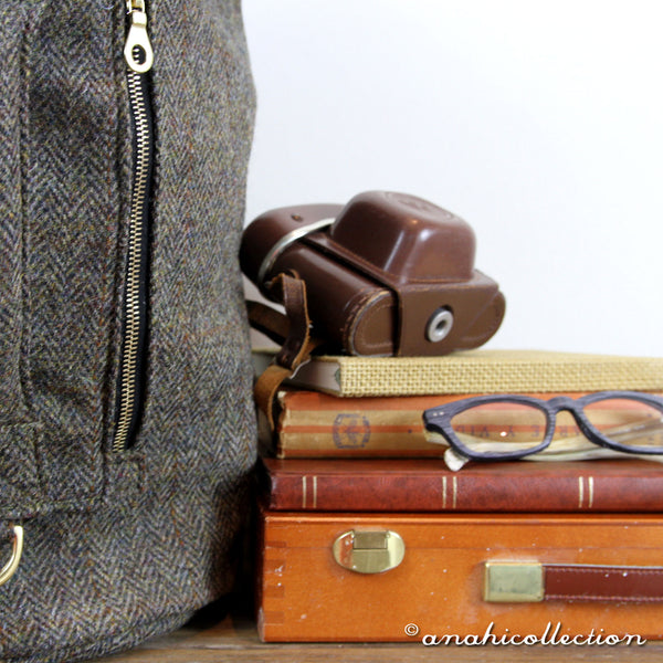 Harris Tweed Duffle Bag