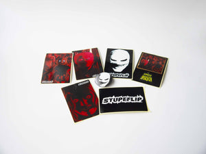 THE HYPNOFLIP INVASION (CD 2011 + stickers & badge)