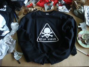 SWEAT CLASSIC STUPVIRUS - Destockage
