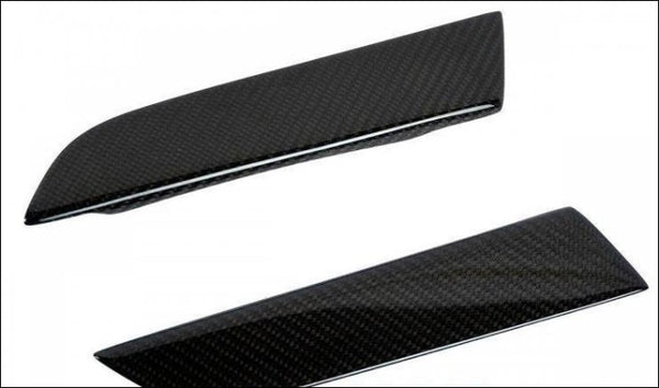 2-Piece Door Handles In Carbon Fiber / Fits All R8 2007-2015 Trim