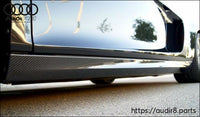 Audi R8 2007-2015 V10 Style Side Skirts (2PC)