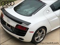 Audi R8 2007-2015  HI GT Style Wing (1inch Higher)
