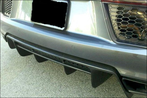 Gen 2 Rear Diffuser / Fits R8 Coupe & Spyder