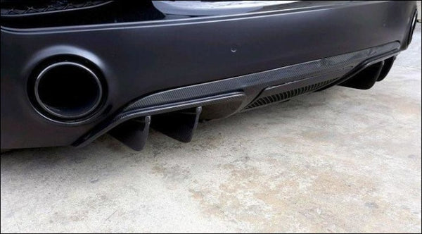 V10-Style Rear Diffuser Face-Lift / Fits R8 V8/v10 Coupe & Spyder 2013-2015