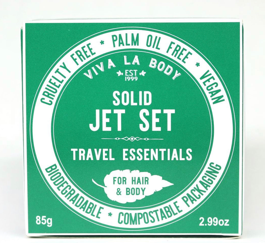 Viva La Body Solid Jet Set Travel Essentials for Hair & Body