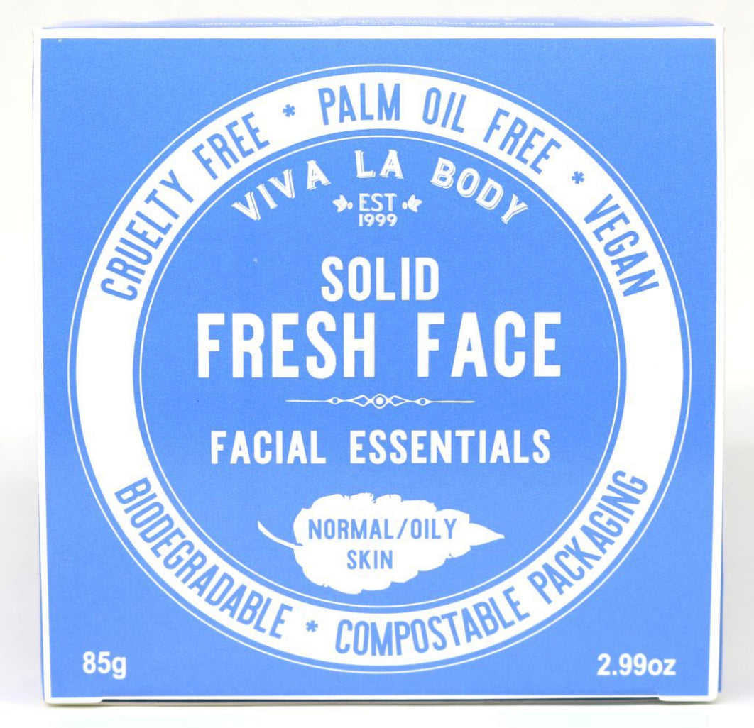 Viva La Body Solid Fresh Face Facial Essentials Normal/Oily Skin