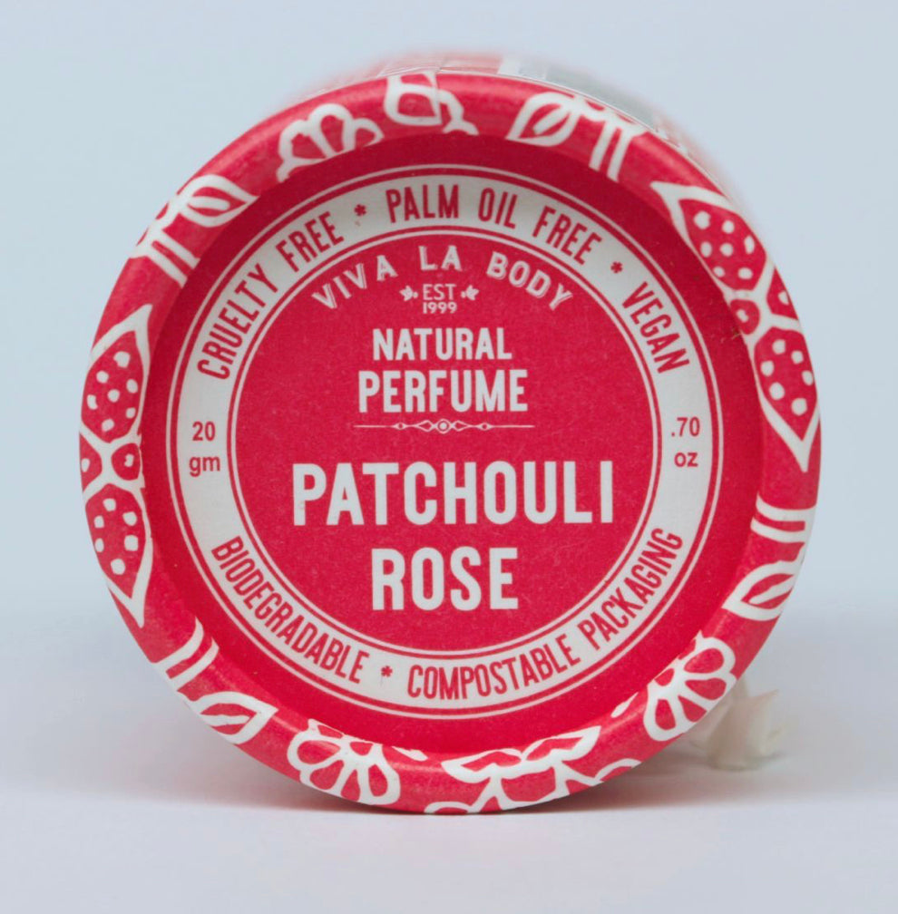 Viva La Body Solid Natural Perfume Patchouli Rose
