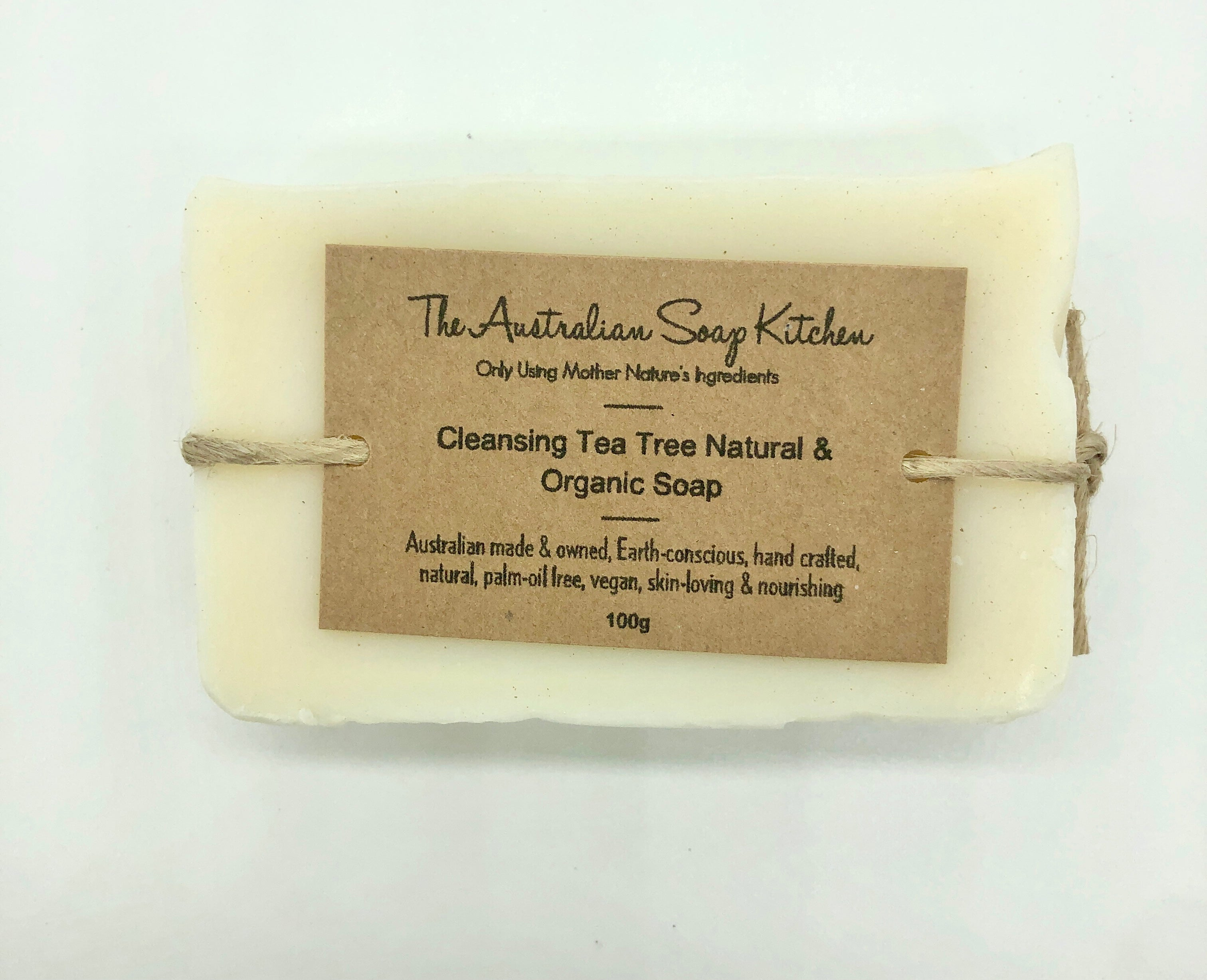 The Australian Soap Kitchen Cleansing Tea Tree Soap