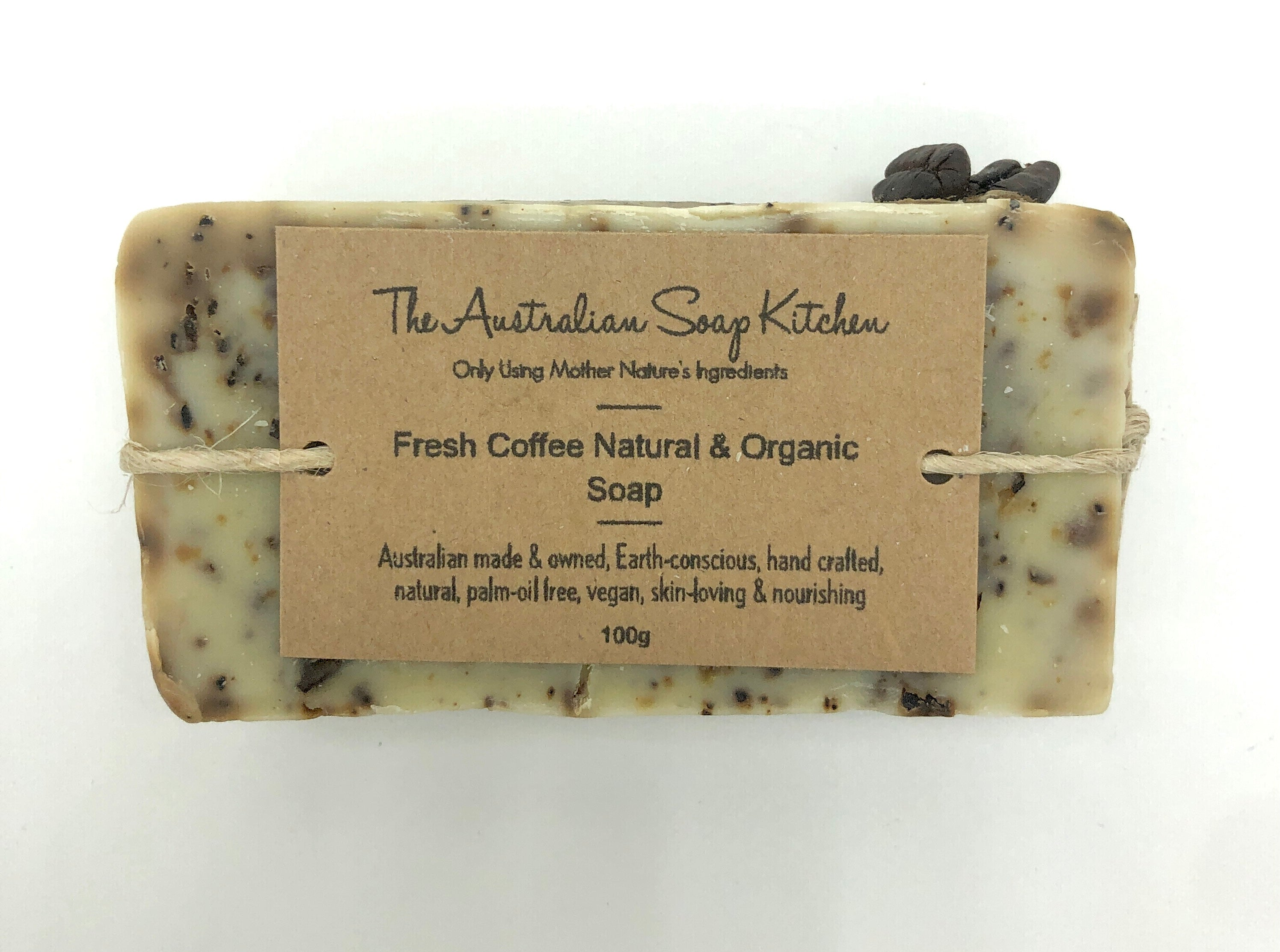 The Australian Soap Kitchen Coffee Natural & Organic Soap