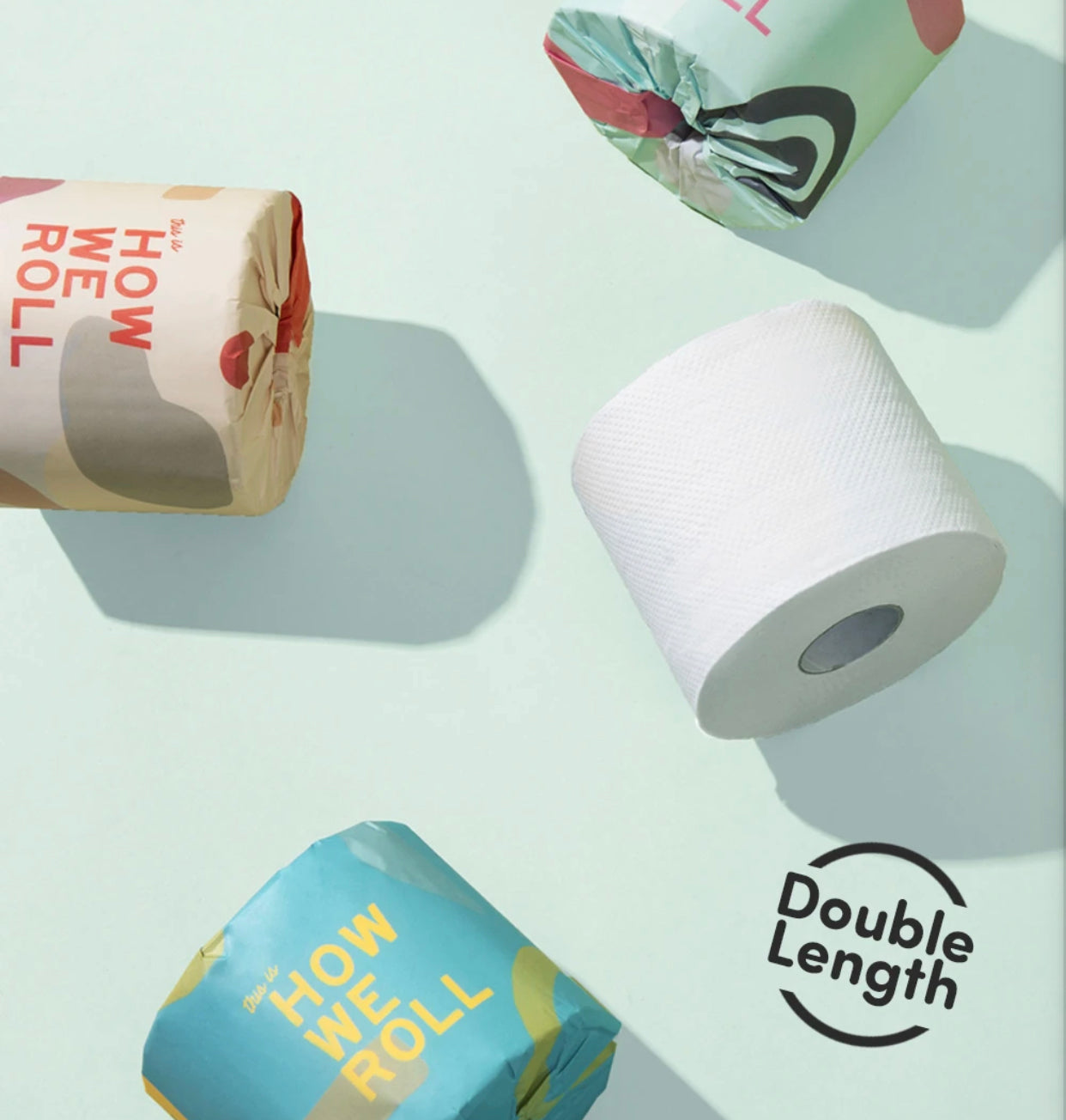 How We Roll 100% Recycled 3ply Toilet Paper