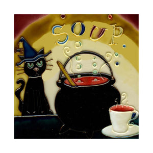 Black Cat and Soup