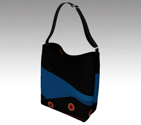 Artfitted, Nite Life, Day tote, bag, accessories, seatbelt strap