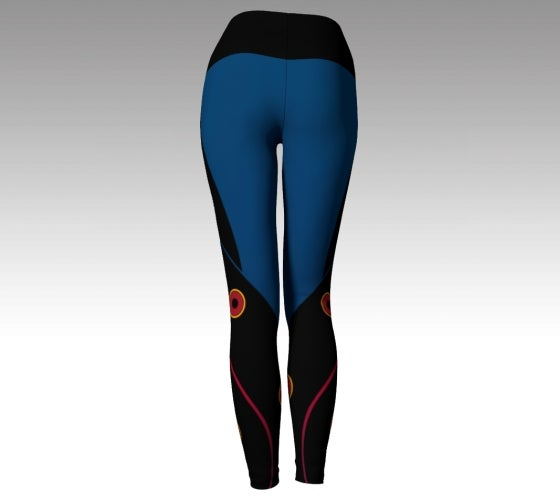 Nite Life Yoga Leggings