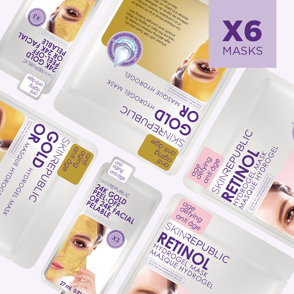 Anti-Aging Starter Kit (6 Mask Bundle)