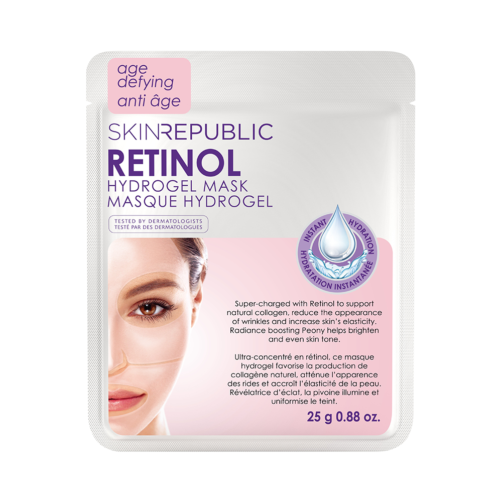 Retinol Hydrogel Face Mask