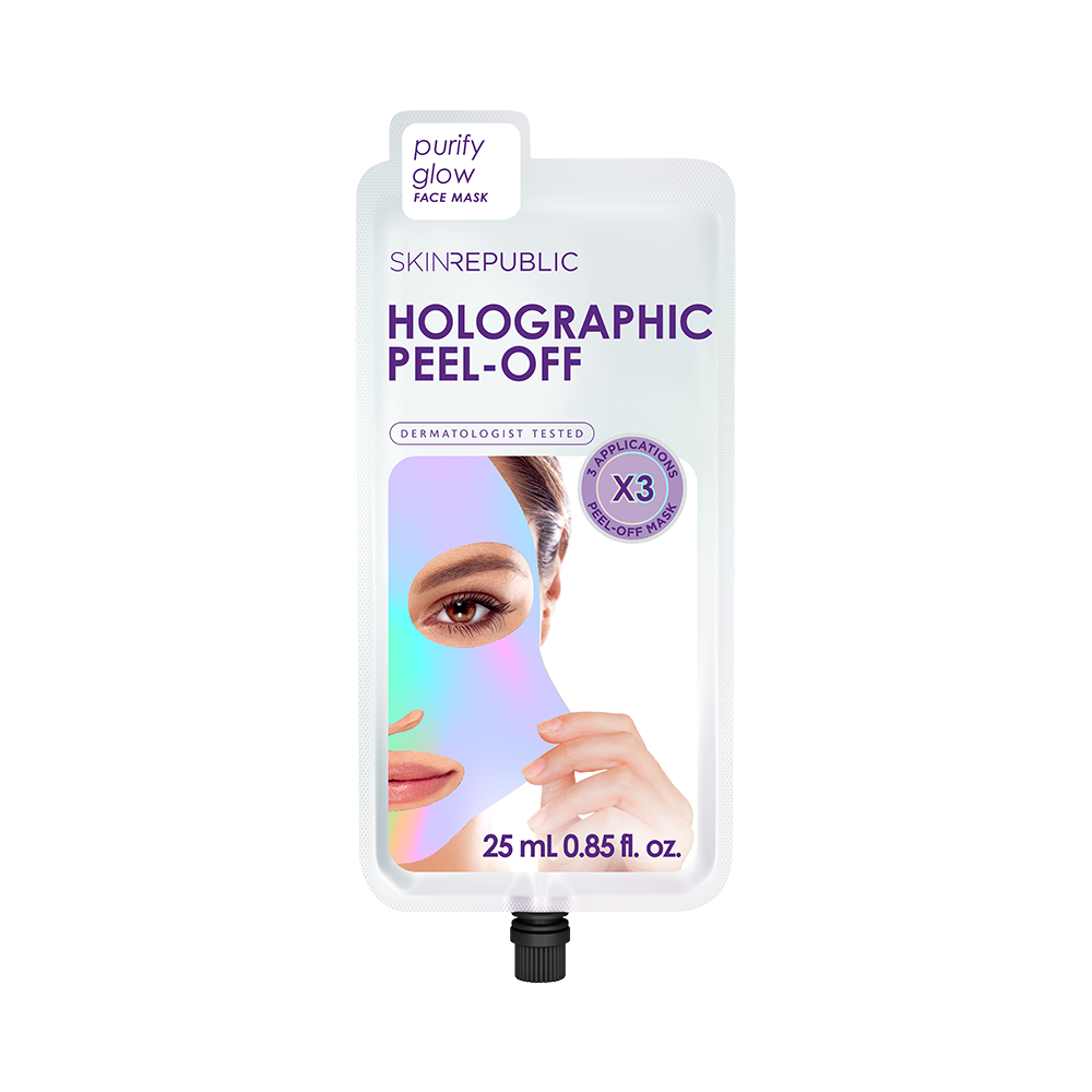 Holographic Peel-Off Face Mask (3 Applications)