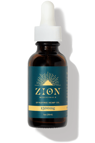 1500mg Spagyric Hemp Extract Oil - Zion Medicinals