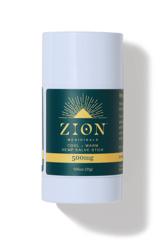 Spagyric Hemp Oil and Salve Stick High Potency Bundle - Zion Medicinals