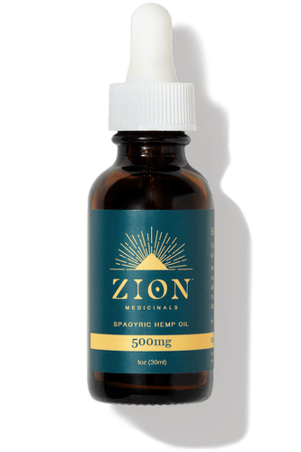 500mg Spagyric Hemp Extract Oil - Zion Medicinals