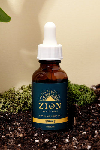 250mg Spagyric Hemp Extract Oil - Zion Medicinals