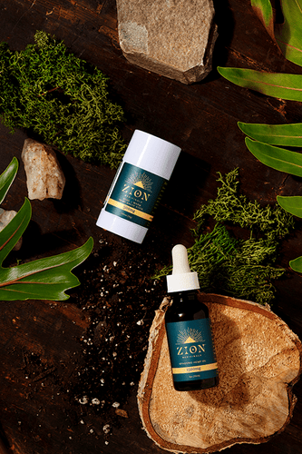 Spagyric Hemp Oil and Salve Stick Moderate Potency Bundle - Zion Medicinals