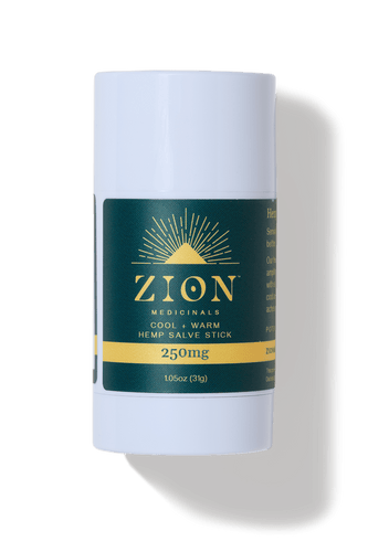 250mg Hemp Salve Stick - Zion Medicinals