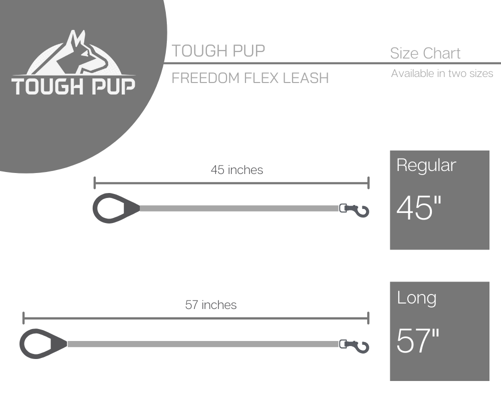 Freedom Flex Leash Size Chart