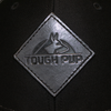 Tough Pup Snapback Hat logo up close