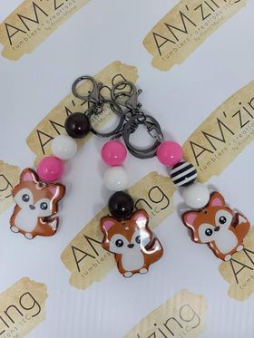 Bubblegum Keychains - AM'zing Tumblers + Creations, LLC