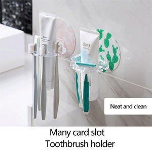 Wall-Mounted Toothbrush Holder(2PCS)
