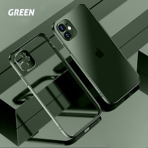 Premium TPU Anti-fingerprint iPhone Case