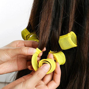 No-heating Hair Spiral Styling Curlers 12pcs