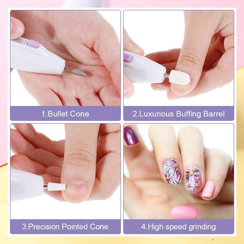 (Christmas Sale 50% OFF)Easy to use Electric Nail Care Kit