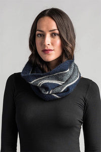 Possum Merino River Snood - Merino Mink