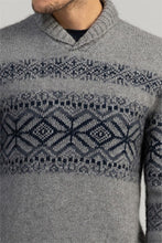 Load image into Gallery viewer, Possum Merino Mens Heritage Sweater - Merino Mink