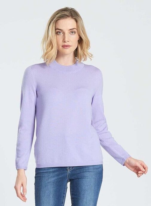 Merino Wool Long Sleeve Classic Turtle Neck - Royal Merino