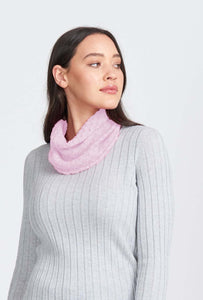 Merino Wool Lace Snood - Royal Merino