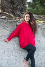 Load image into Gallery viewer, Merino Wool Batwing Top with Bottom Band - OBR Merino