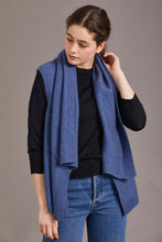 Load image into Gallery viewer, Possum merino Asymmetric Wrap - McDonald Textiles