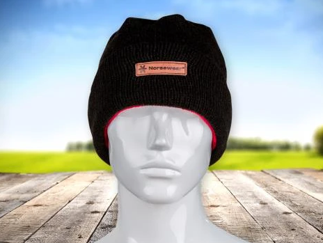 Merino Wool Fleece Lined Beanie - Norsewear NZ